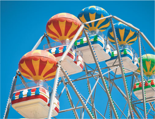 5th business image of a Ferris Wheel